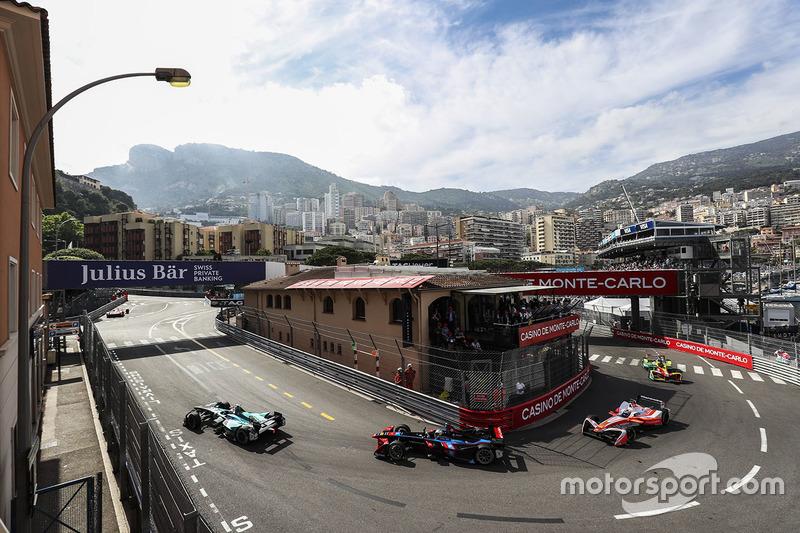 Спустя год отсутствия в календарь Формулы E вернулась гонка в Монако