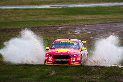 Fabian Coulthard, Team Penske Ford runs out