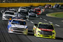 Matt Crafton, ThorSport Racing Toyota Johnny Sauter, GMS Racing Chevrolet