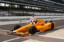 Fernando Alonso, Andretti Autosport, Honda, offizielles Qualifying-Bild