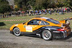Marc Valliccioni et Sandra Arlettaz-Schmidly, Porsche 997 GT3 Cup RGT, Lugano Racing Team