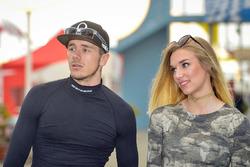 Scott Redding, Pramac Racing mit seiner Freundin