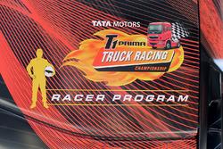 Tata T1 Prima Racer programme logo