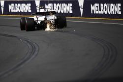Lance Stroll, Williams FW40, fait de étincelles
