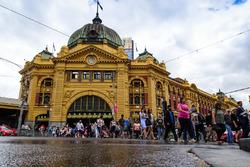 Flinders Street İstasyonu