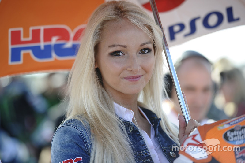 Grid girl Repsol Honda Team