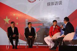 Jackie Chan at Presentation