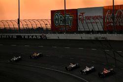 Mikhail Aleshin, Schmidt Peterson Motorsports Honda, Helio Castroneves, Team Penske Chevrolet, Trist