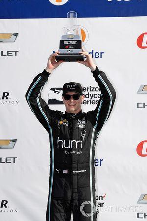 Podium : le deuxième, Josef Newgarden, Team Penske Chevrolet