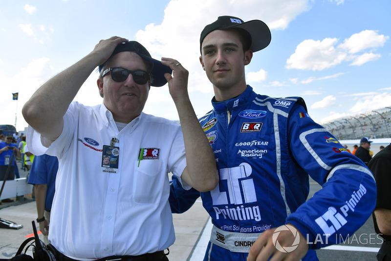 Austin Cindric, Brad Keselowski Racing, Ford, mit Jimmy White