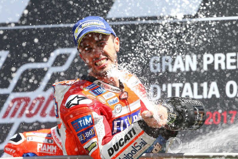 3. Primera victoria de la temporada de Dovizioso en Mugello