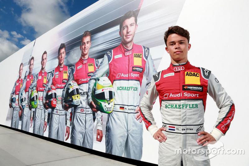Nyck de Vries, pilota di riserva Audi Sport DTM