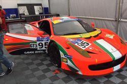 Christoph Ulrich, Maurizio Mediani, Ferrari 458 Italia GT3, Spirit of Race