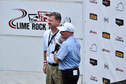 Debra trophy with Mike O'Gara