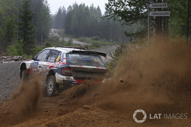 Jari Huttunen, Antti Linnaketo, Skoda Fabia R5