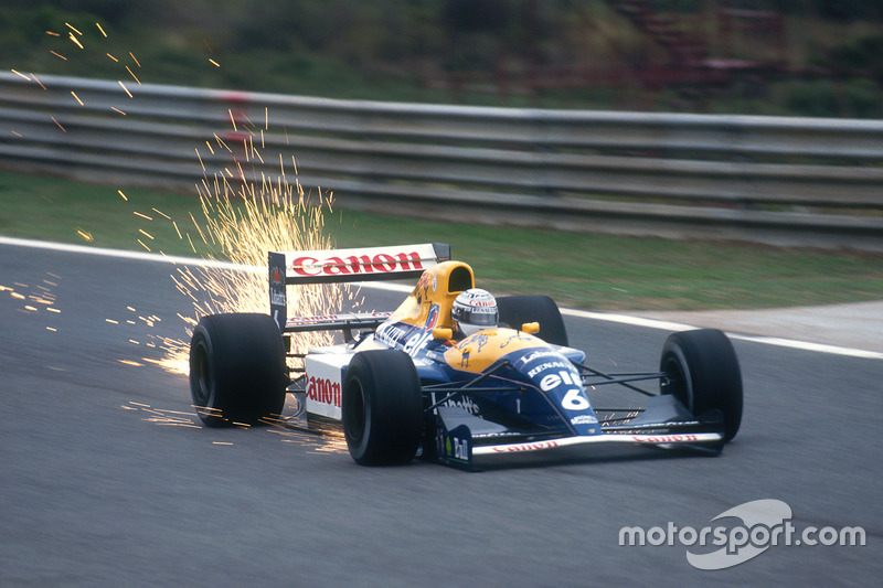 1991: Riccardo Patrese, Williams FW14-Renault