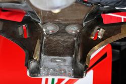 Dérive latérale de la Ferrari SF70H