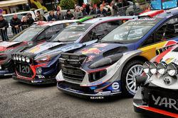 Kris Meeke, Paul Nagle, Citroën C3 WRC, Citroën World Rally Team, Hayden Paddon, John Kennard, Hyundai i20 WRC, Hyundai Motorsport, Sébastien Ogier, Julien Ingrassia, Ford Fiesta WRC, M-Sport