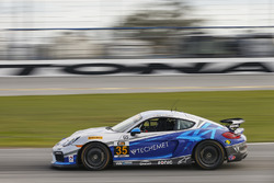 #35 CJ Wilson Racing, Porsche Cayman GT4: Russel Ward, Damien Faulkner