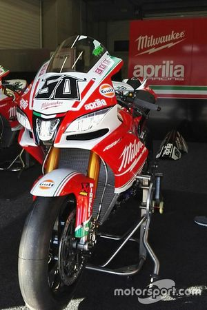 Aprilia RSV4 RF di Eugene Laverty, Milwaukee Aprilia World Superbike Team