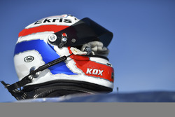 Casco de Peter Kox, RealTime Racing