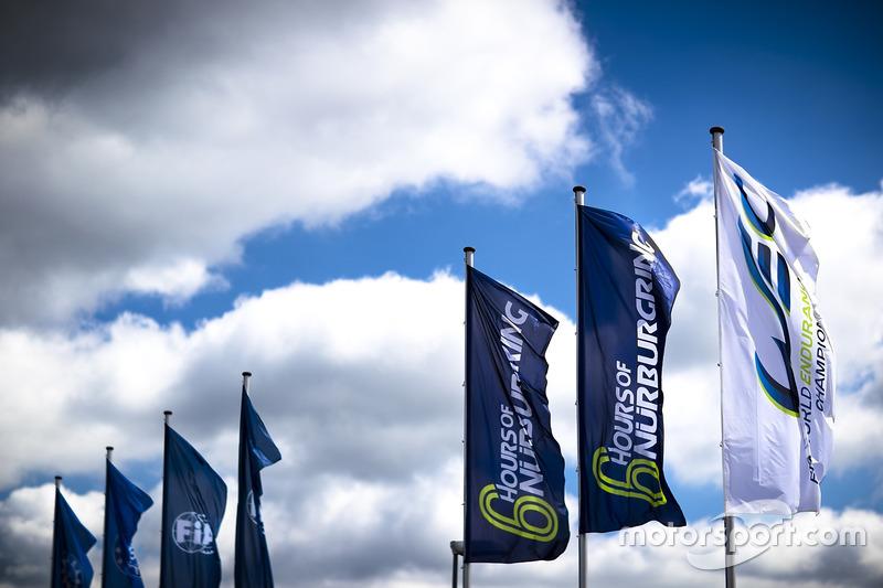 WEC-Fahrerlager am Nürburgring
