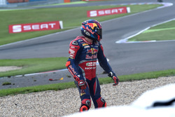 Choque de Stefan Bradl, Honda World Superbike Team