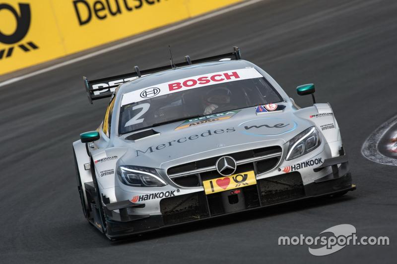 6. Gary Paffett Mercedes-AMG Team HWA, Mercedes-AMG C63 DTM