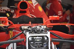 Ferrari SF70H, dettaglio della sospensione anteriore
