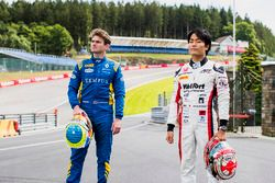 Oliver Rowland, DAMS e Nobuharu Matsushita, ART Grand Prix