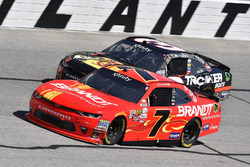 Justin Allgaier, JR Motorsports Chevrolet and Ty Dillon, Richard Childress Racing Chevrolet