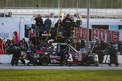 Noah Gragson, Kyle Busch Motorsports Toyota pitstop