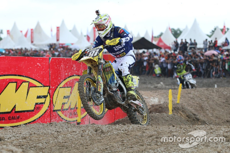 Pemenang MX2 Race 1: Jeremy Seewer, Team Suzuki World MX2