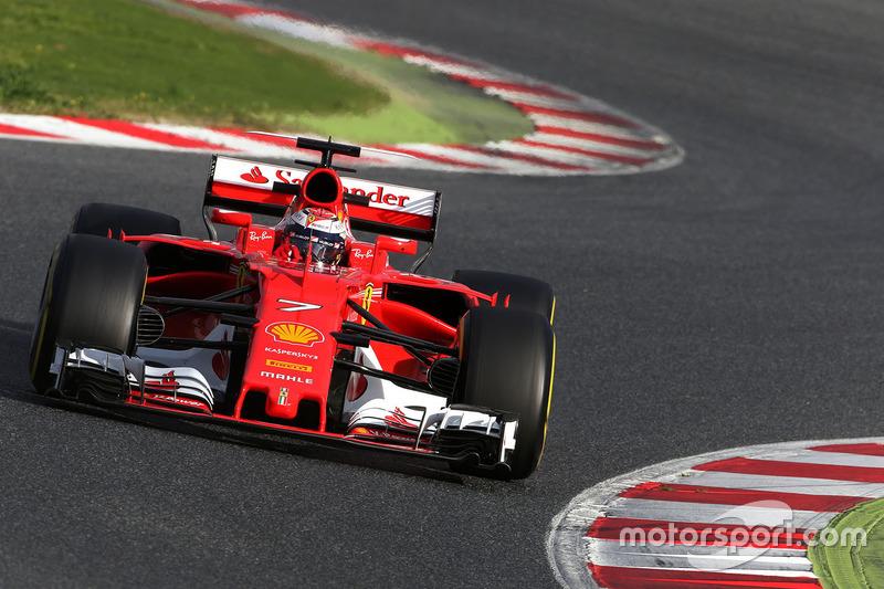 3: Kimi Raikkonen, Ferrari SF70H, 1:20.872, softs, day 4 (201 laps)