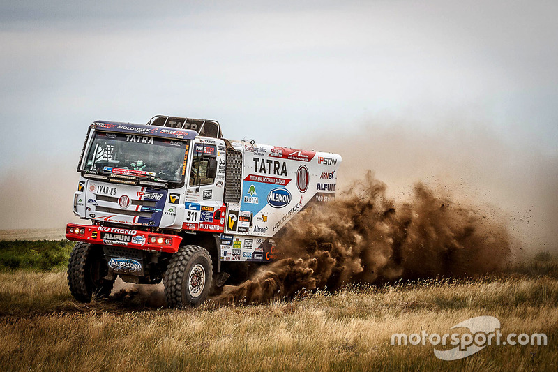 #311 TATRA BUGGYRA Racing: Martin Kolomy, Jiri Stross, Michal Ernst