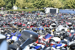 Bike-Parkplatz