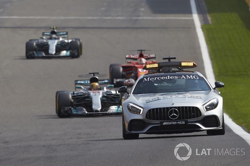 Giro 32 - Lewis Hamilton, Mercedes AMG F1 W08
