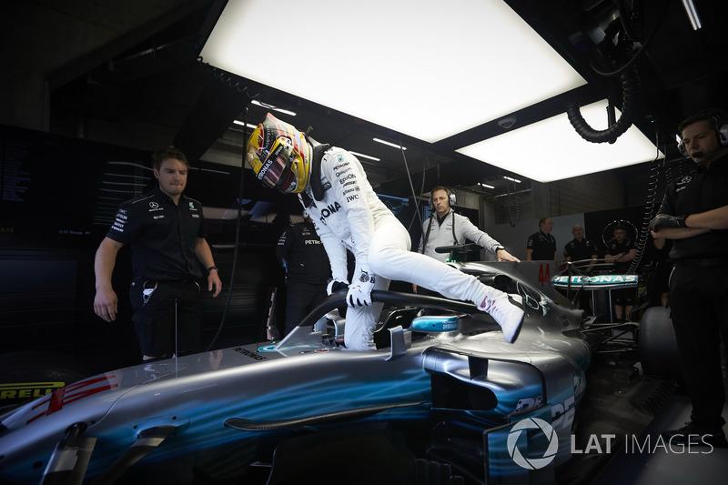 Льюіс Хемілтон, Mercedes AMG F1 із Halo