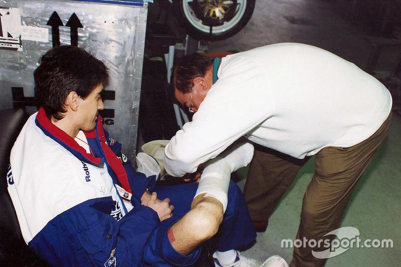 Mick Doohan e Dr. Claudio Costa