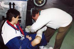 Mick Doohan, Honda, et le Docteur Claudio Costa de la Clinica Mobile