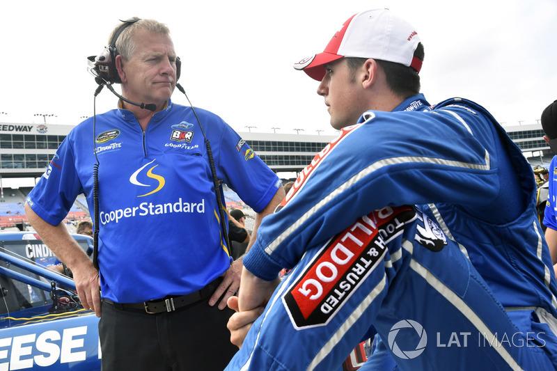 Austin Cindric, Brad Keselowski Racing Ford and Buddy Cisco