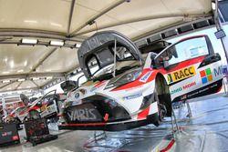 Zone de service Toyota Racing