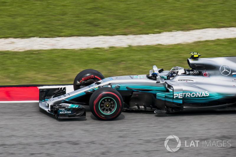 5th : Valtteri Bottas (Mercedes)