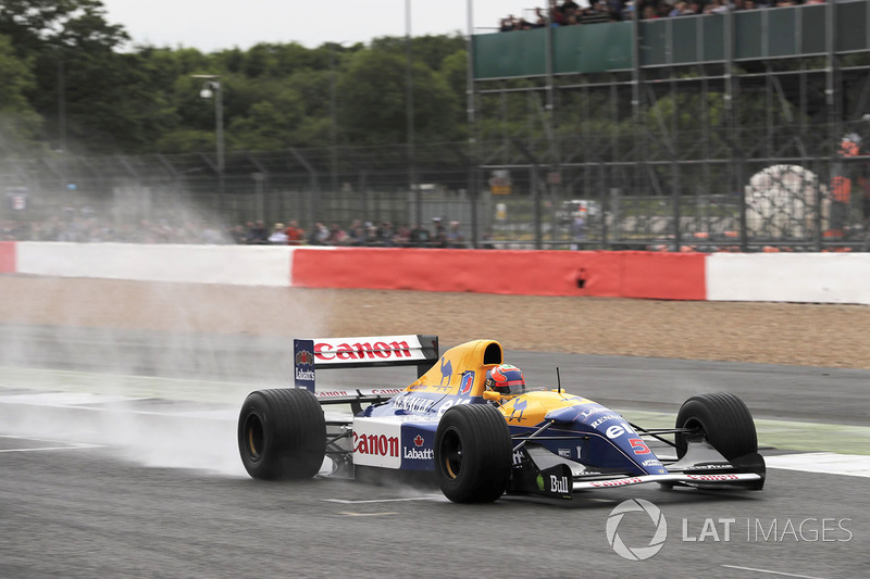 Karun Chandhok, Williams FW14B Renault