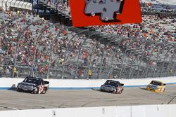 Harrison Burton, Kyle Busch Motorsports Toyota, Noah Gragson, Kyle Busch Motorsports Toyota, Todd Gilliland, Kyle Busch Motorsports Toyota
