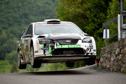 Paolo Porro, Paolo Cargnelutti, Ford Focus WRC, Bluthunder