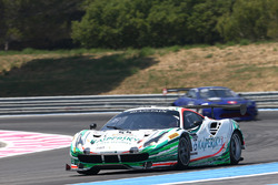 #55 Kaspersky Motorsport Ferrari 488 GT3: Giancarlo Fisichella, Marco Cioci, James Calado