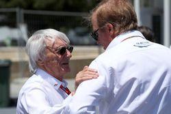 Bernie Ecclestone, Danny Sullivan, commissaire de la FIA