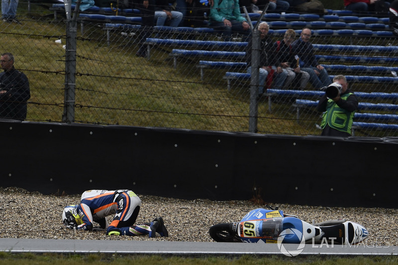 Philipp Ottl, Schedl GP Racing, crash
