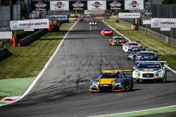 #17 Belgian Audi Club Team WRT, Audi R8 LMS: Stuart Leonard, Markus Winkelhock, Jake Dennis, Jamie G